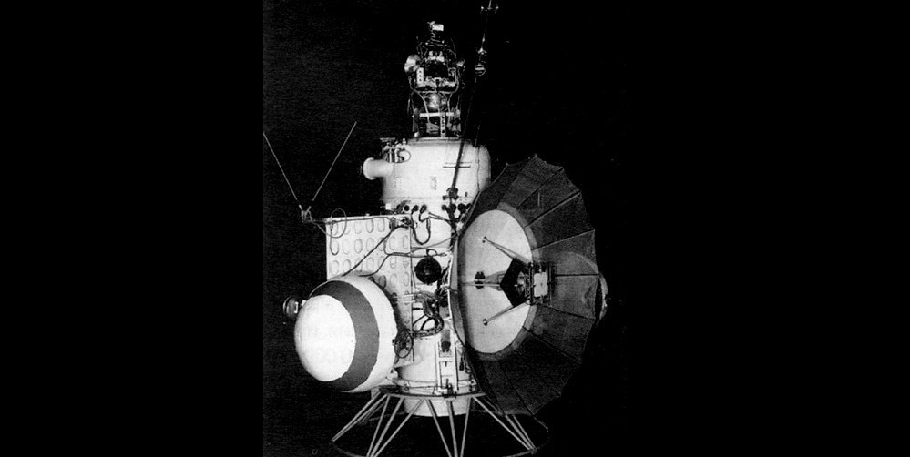 The Soviet Union's Mars 1 probe launched on November 1, 1962. (RKK Energia)