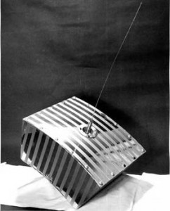 OSCAR 1 was the first amateur satellite launched in 1961. The ham radio organization, AMSAT, had much experience building, controlling and communicating with satellites allowing AST to use proven and inexpensive technology. (AMSAT)