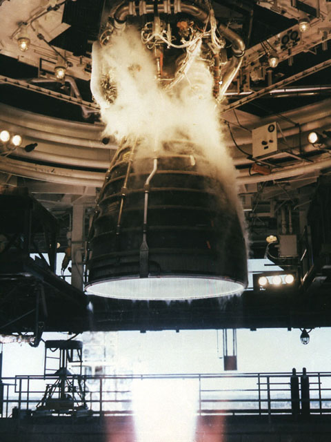 space shuttle engines firing - photo #7