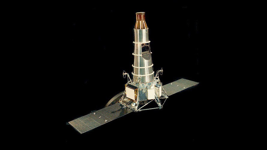 Model of Block III Ranger (NASA)