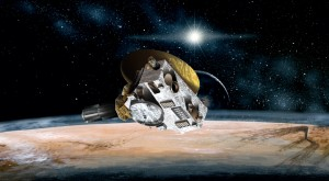 Depiction of New Horizons fly past Pluto on July 14, 2015. (JHUAPL/SwRI)