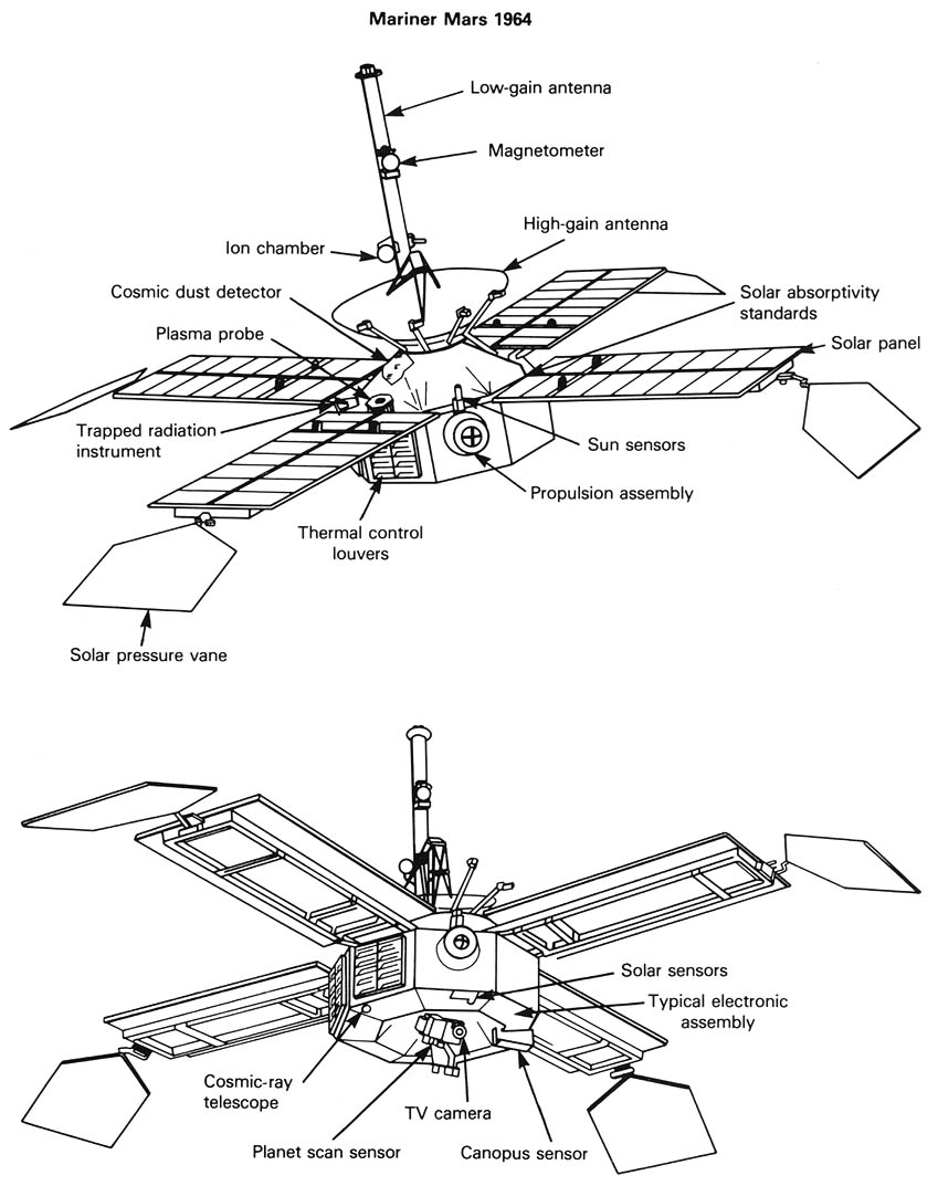 50 years ago today  the launch of mariner 3