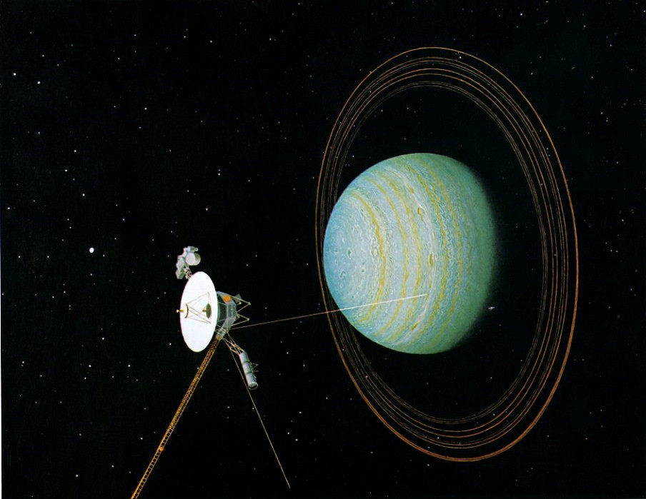 what spacecraft visited neptune - photo #4