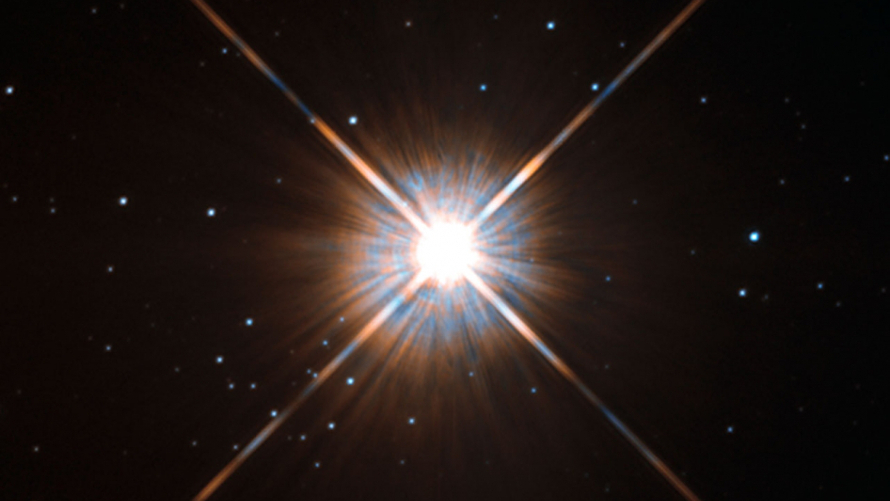 A view of Proxima Centauri acquired by the Hubble Space Telescope. (ESA/Hubble/NASA)